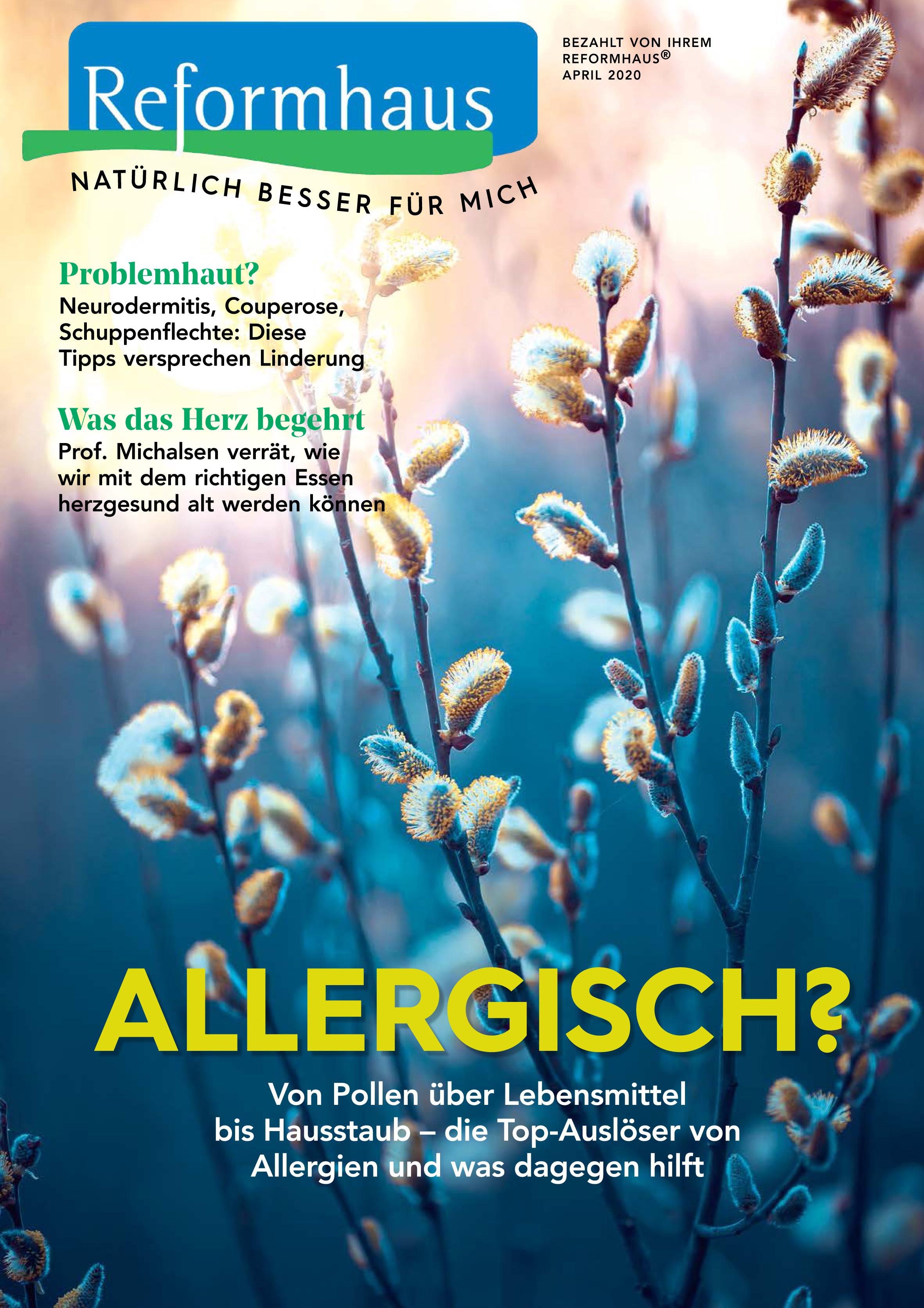 Tief Luft holen! – Artikel im Reformhaus Magazin