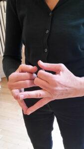 fingerdruckpunkte Ringfinger kleiner Finger