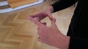 fingerdruckpunkte Daumen Zeigefinger