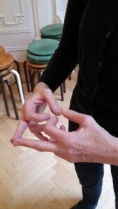 fingerdruckpunkte Mittelfinger